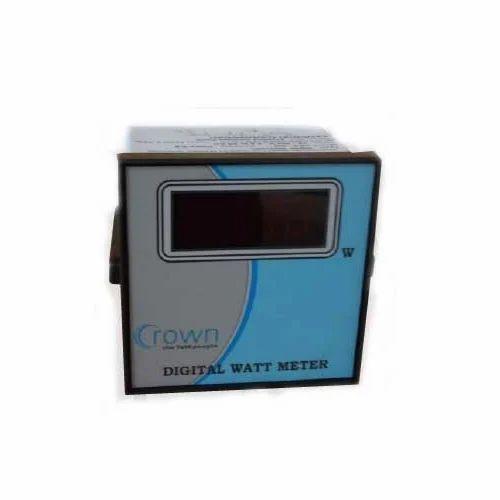 digital watt meter at rs 2600 piece digital meter crown