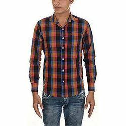 Mens Stylish Check Shirt, Size: 38.0 - 42.0