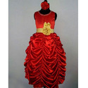 Red Belle Princess Gown