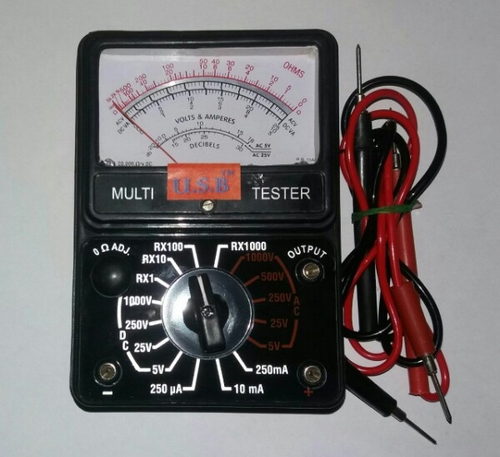 U.S.B AC Meter, ROTTARY, for Laboratory