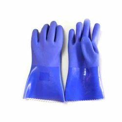Full Fingered PVC Safety Gloves