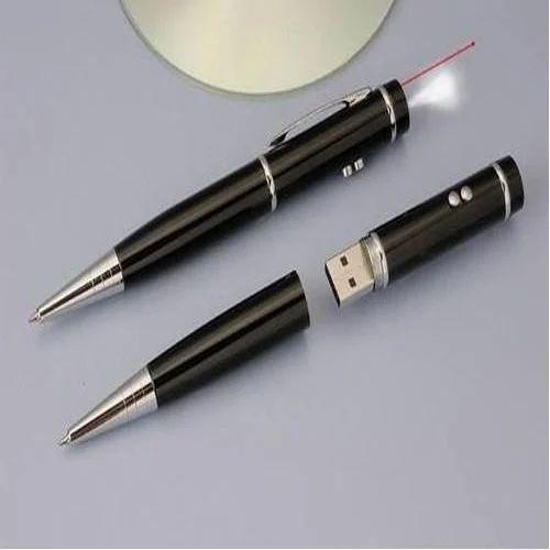 Black Pen with Pen Drive