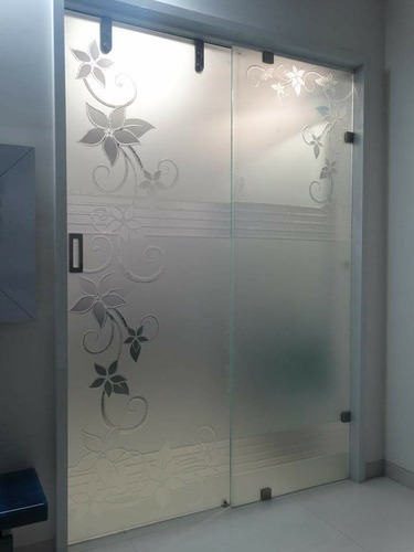 Toughened Glass 12mm Toughened Glass Sliding Doors
