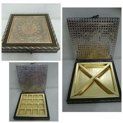 Wood Square Exclusive Box, Usage: Chocolate & Dry Fruit Packing