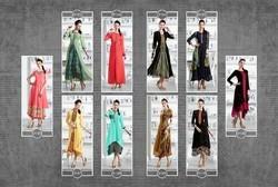 Georgette Designer Kurtis, Size: L -XXL