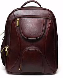 Genuine Leather Brown/Tan Pure Leather Laptop Shoulder Bags