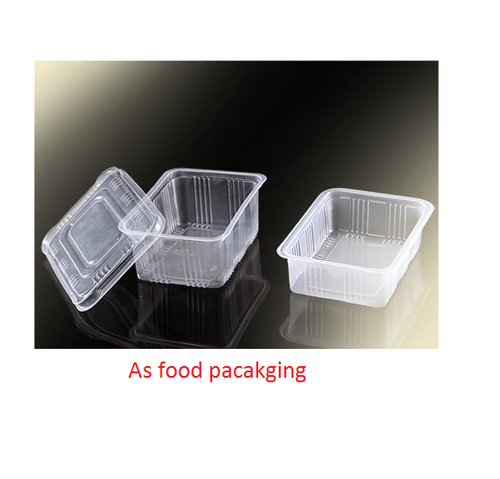 Corporate Letterhead At Rs 3 Piece: Plain Top Sealing Container, Rs 2.3 /piece, AS Food