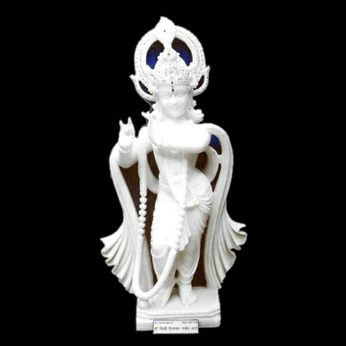 Krishna Idol White