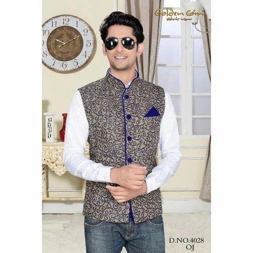 bffb41d223 Designer Modi Jacket, Mens Nehru Jacket | Dadar, Mumbai | Zeel Art ...