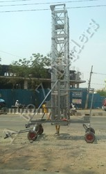 Tiltable Telescopic Tower Ladder