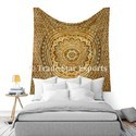 Indian Ombre Lotus Wall Hanging Tapestry