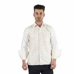 Scot Wilson Silk Embroidery Shirt