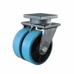 Dual Trailer Jack Caster Wheel