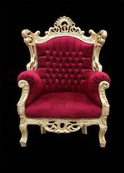 Gold Baroque Chair