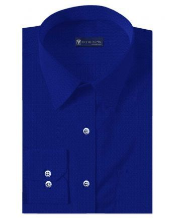 b7c4f1677 Bruges Persian Blue Men's Custom Shirt, Gents Shirts, Mens Shirts ...