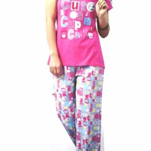 6ebfecf30 Ladies Night Suit - Printed Night Suit Wholesale Trader from Chennai