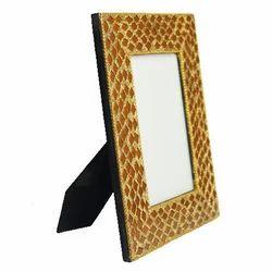 Golden Wood Decorative Photo Frame