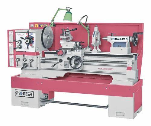 Semi-Automatic PIONEER Heavy Under Counter Lathe Machine, GHL 215