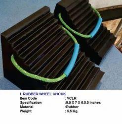 L Rubber Wheel Chock