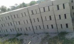 GSR Concrete 9x5x3.5 Inch CLC Bricks, For Side Walls