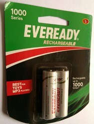Eveready AA Rechargeable Battery, Voltage: 1.2 V