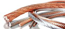 Wire Braided Copper Rope