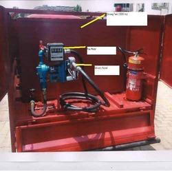 Explosion Proof Electric Transfer Pump Flow Meter Unit