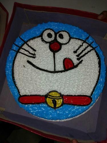 Doraemon Birthday Cake at Rs 700 kilogram Birthday Cake Cathy