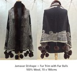 Black Jamawar Shawls