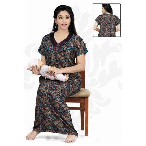 641dd3818 Cotton Embroidery Nighty at Rs 280  piece(s)