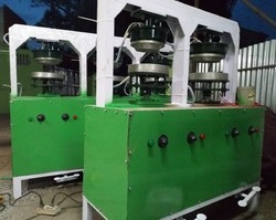 Semi Automatic Betel Leaf Plate Making Machine