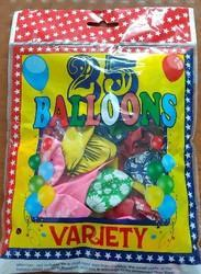 Variety Assorted Balloon Pack Of 25