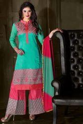 f3d9ac617a Chanderi Suit Material, चंदेरी सूट सामग्री, Mahilaon ...