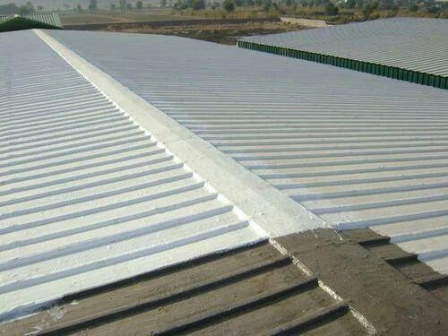 White Roof Sheet Elastomeric Waterproofing Coating Service