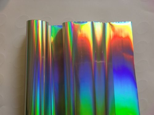 Hologram Rainbow Foil Sheet View Specifications