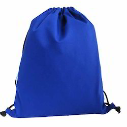 Blue Drawstring Bags