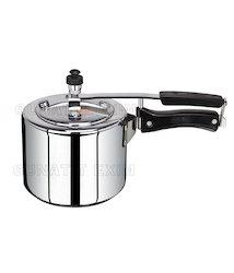 Steel Inner Lid Pressure Cooker Kitchen Stuff, Capacity: 10 Lit