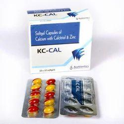 Softgel Capsules of Calcium with Calcitriol