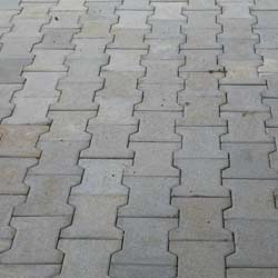 Matte Finish Interlocking Concrete Paving Blocks At Rs 39