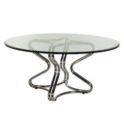 Maxx Furniture Round Mild Steel Center Table