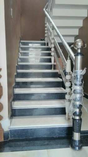 Marble And Granite Ss Railing At Rs 3500 Foot Stainless Steel