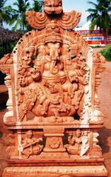 Ganesha Wooden Statue 6 Feet