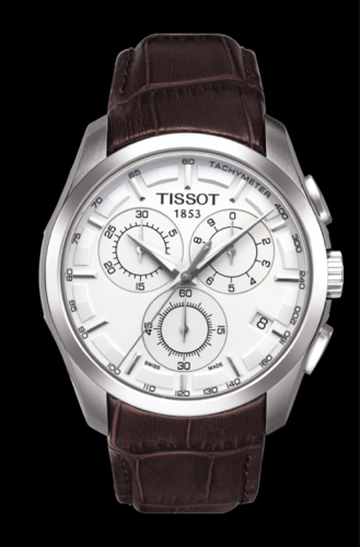 San Francisco 949db 79fa1 Tissot Couturier Chronograph Watch