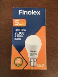 Finolex 5 Watt LED Bulb