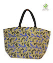 Juco Bag with Leaves Print