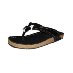 Daily wear Ladies Leather Slippers, Size: 6- 9 inch