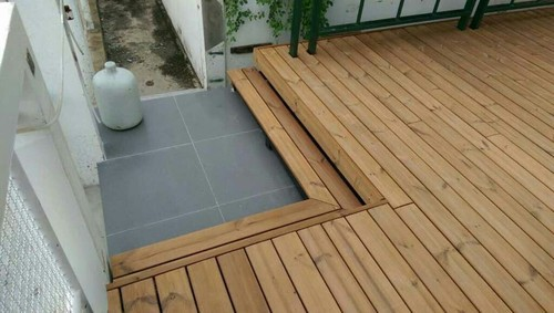 Thermo Pine Decking Thermo Treated Wood For Decking