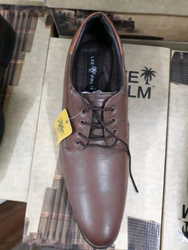 Brown Men Leather Shoes