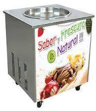 Fried Pan Ice Cream Making Machine