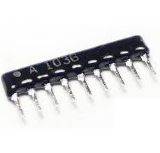 Resistor Network 10 Pin